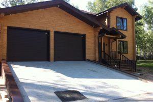 Строительство встроенного в дом гаража